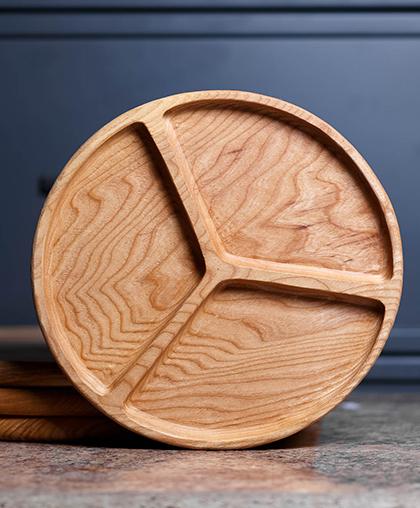Тарелка для подачи закусок
