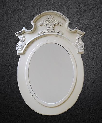 """Зеркало """"Карниз ажур"""""""